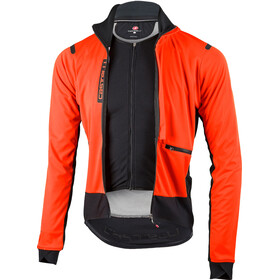 Castelli Alpha Ros Jacket Men orange/black günstig kaufen | Brügelmann